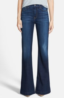 7 For All Mankind 'Ginger' High Rise Flare Jeans