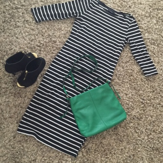 A casual striped dress from Lulu's