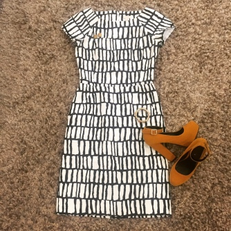 Tribal Print J.Crew Shift Dress