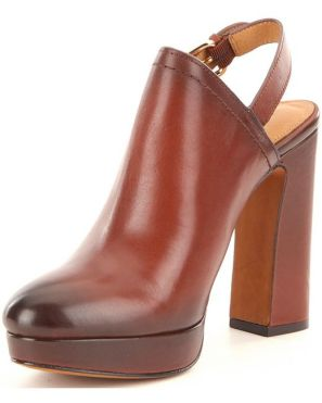 COACH Carmine Slingback - Saddle