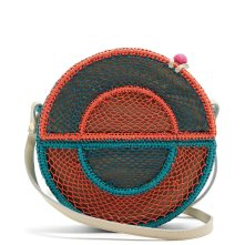 Sophie Anderson - Nilsa Circle Toquilla-Straw Cross-Body Bag